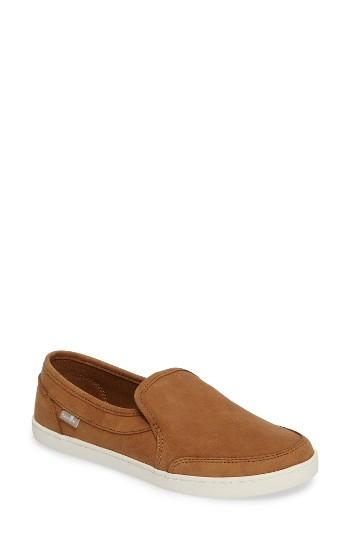 Women's Sanuk 'pair O Dice' Slip On M - Brown