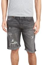 Men's Levi's 501 Cutoff Denim Shorts - Black