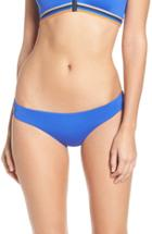 Women's Maaji 'poolside Memories' Reversible Bikini Bottoms - Blue