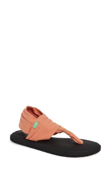 Women's Sanuk 'yoga Sling 2' Sandal M - Orange