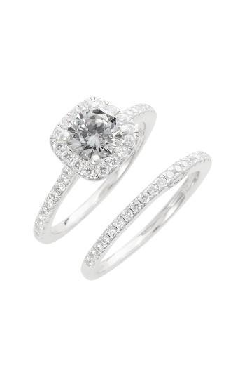 Women's Lafonn Simulated Diamond Engagement Ring & Band