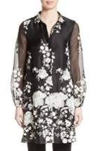 Women's Co Floral Embellished Tunic Top
