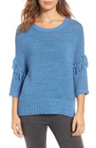 Women's Rebecca Minkoff Fringe Sweater, Size - Blue