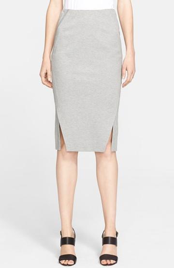 Women's Donna Karan New York Melange Jersey Pencil Skirt