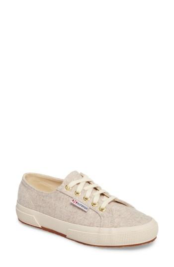 Women's Superga 2750 Wool Sneaker Us / 36eu - Beige