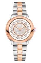 Women's Fendi Ishine Rotating Semiprecious Stone Bracelet Watch, 33mm