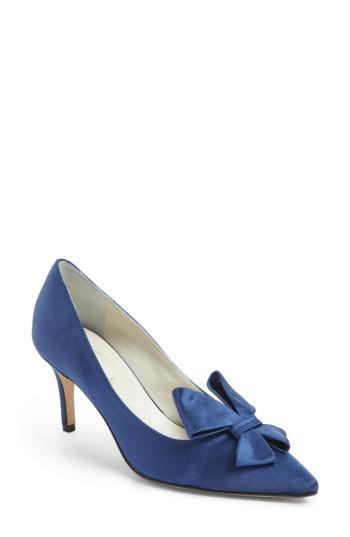 Women's Something Bleu Bow Loafer Mule M - Black