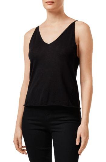 Women's J Brand Lucy Silk & Cashmere Sweater Knit Camisole - Black