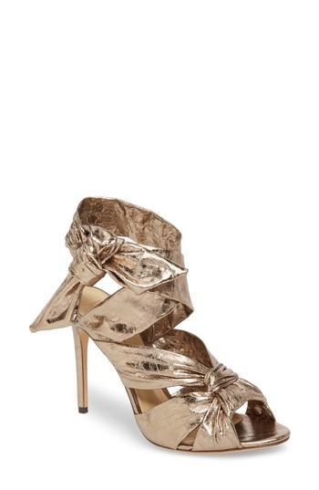 Women's Alexandre Birman Maleah Sandal M - Metallic