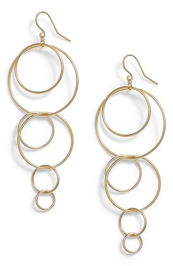 Women's Gorjana Wilshire Multi Loop Drop Earrings