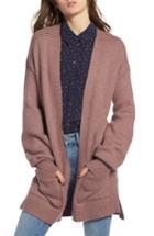 Women's Treasure & Bond Easy Throw-on Cardigan, Size - Purple