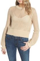 Women's Rebecca Minkoff Bianca Sweater, Size - Beige