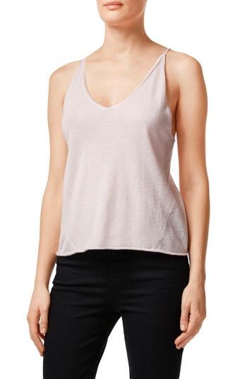 Women's J Brand Lucy Silk & Cashmere Sweater Knit Camisole - Beige