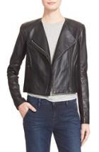 Women's Veda 'dali' Leather Jacket, Size - Black