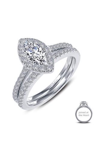 Women's Lafonn Joined At The Heart Marquise Halo Ring
