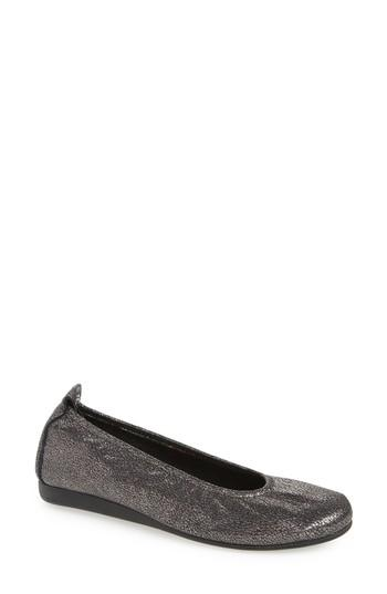 Women's Arche Laius Manta Flat Us / 37eu - Grey