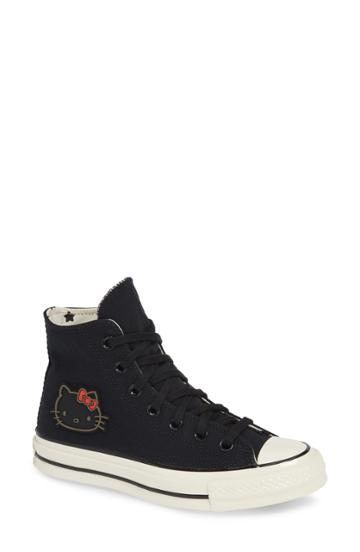 Women's Converse X Hello Kitty Chuck Taylor All Star Ct 70 High Top Sneaker M - Black
