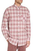 Men's Zanerobe Check Rugger Oversize Plaid Shirt - Pink