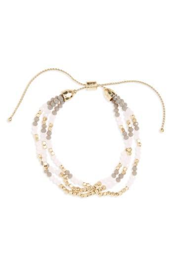 Women's Canvas Jewelry Beaded Friendship Bracelet