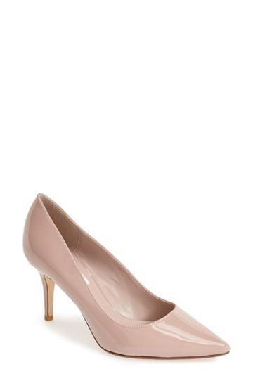 Women's Dune London 'alina' Pointy Toe Pump Us / 38eu - Beige