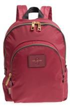 Marc Jacobs Double Pack Nylon Backpack - Burgundy