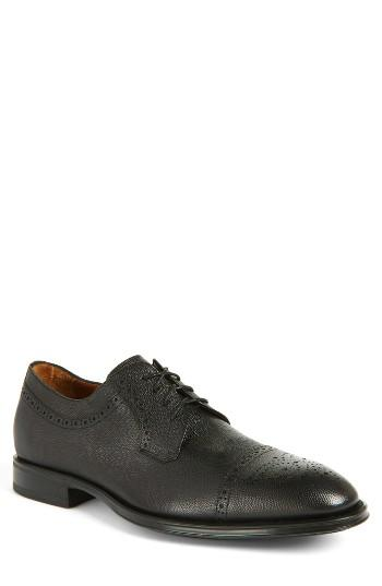 Men's Aquatalia Duke Medallion Toe Derby