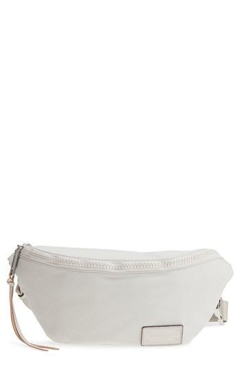 Rebecca Minkoff Nylon Belt Bag - Ivory