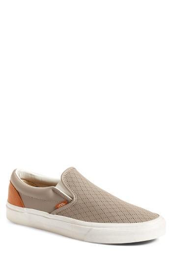 Men's Vans 'classic' Slip-on Sneaker .5 M - Grey