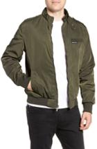 Men's Members Only Iconic Racer Jacket, Size - Green