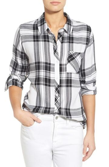 Women's Rails Plaid Button Front Shirt