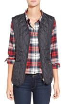 Women's Barbour 'beadnell' Quilted Liner Us / 8 Uk - Blue