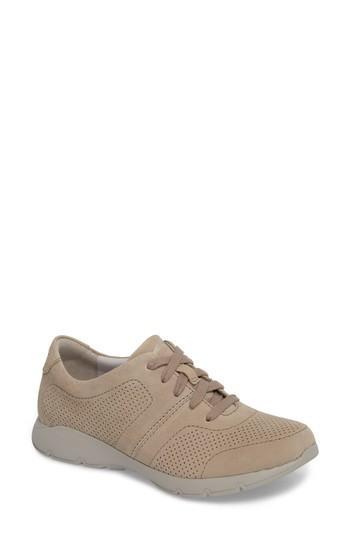 Women's Dansko Alissa Sneaker .5-6us / 36eu M - Beige