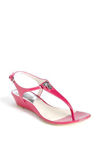 Michael Michael Kors 'hamilton' Sandal Lacquer Pink