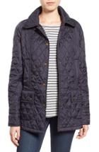Women's Barbour 'beadnell - Summer' Quilted Jacket Us / 8 Uk - Blue