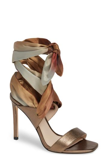Women's Paige Vanne Ombre Wraparound Sandal M - Metallic