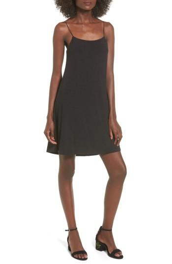 Women's Lush Slipdress - Black