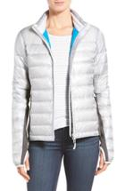 Women's Canada Goose 'hybridge Lite' Slim Fit Mixed Media Down Jacket