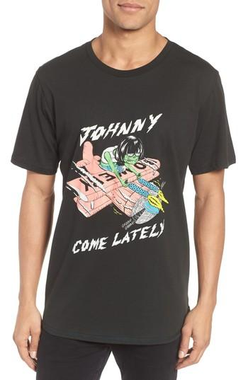 Men's Barking Irons Johnny Come Lately Graphic T-shirt - Black