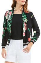 Women's Vince Camuto Havana Tropical Bomber Jacket