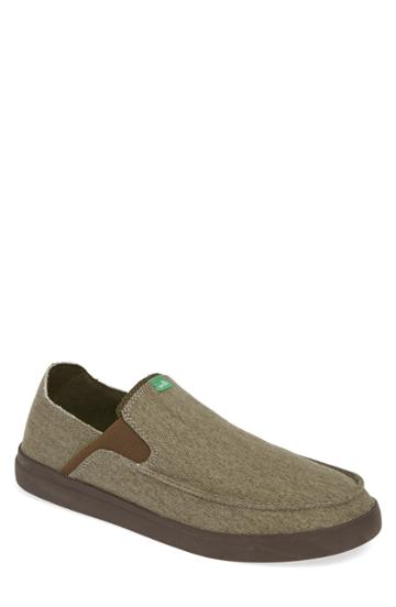 Men's Sanuk Pickpocket Slip-on Sneaker M - Grey