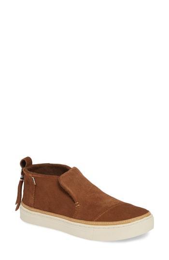 Women's Toms Paxton Slip-on Chukka Sneaker B - Brown