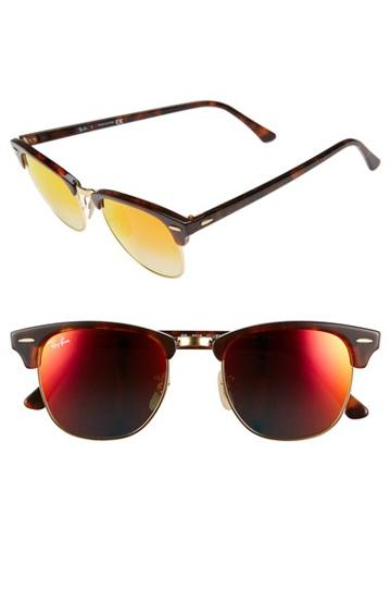 Women's Ray-ban 'clubmaster' 51mm Sunglasses (nordstrom Exclusive)