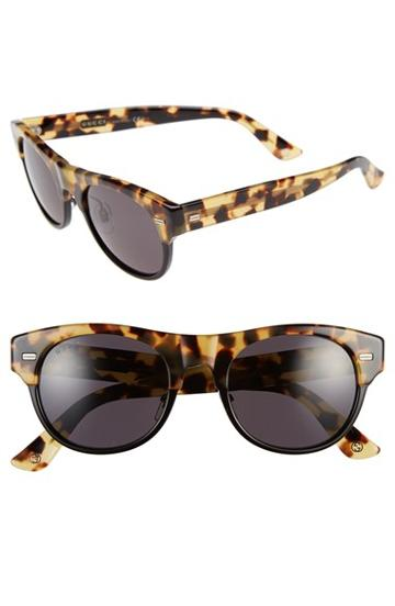 Women's Gucci 'clubmaster' 51mm Retro Sunglasses