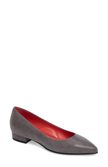 Women's Pas De Rouge Pointy Toe Low Pump Us / 35eu - Grey