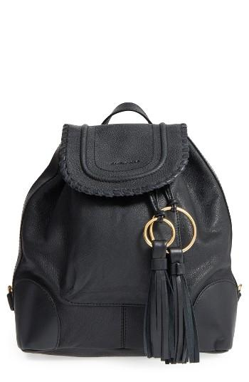 See By Chloe Polly Leather Backpack -