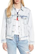 Women's Levi's Ex-boyfriend Denim Trucker Jacket - Blue