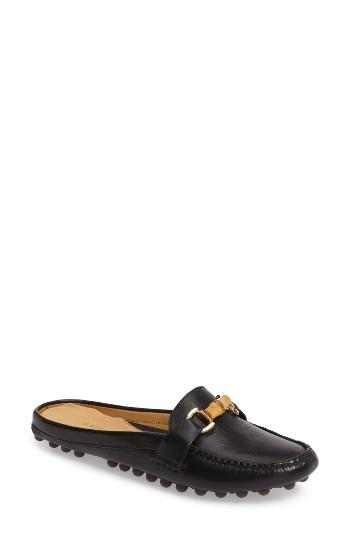 Women's Patricia Green Island Bamboo Slide Loafer M - Black