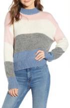 Women's Rebecca Minkoff Kendall Stripe Sweater - Blue