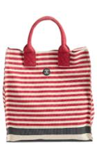 Barbour Coast Striped Canvas Tote -