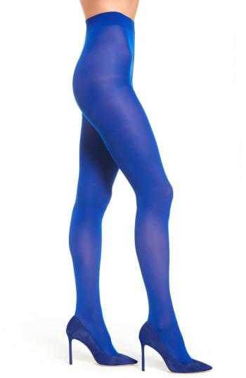 Women's Sarah Borghi Vel 40 Tights - Blue